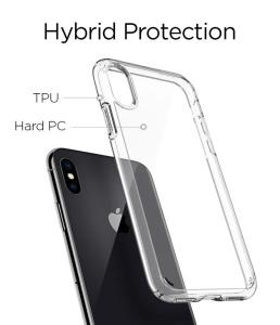 Ốp Spigen Ultra Hybrid iphone X / XS (chính hãng)
